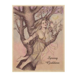Apple Blossom Dryad Fairy Faerie Altar Art