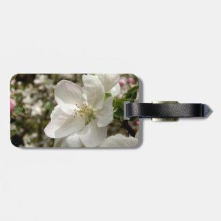 Apple Blossom Luggage Tag