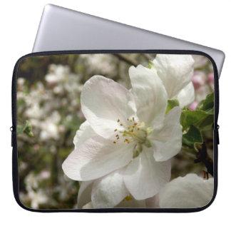 Apple Blossom Neoprene Laptop Sleeve