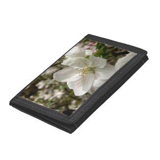 Apple Blossom Nylon Wallet