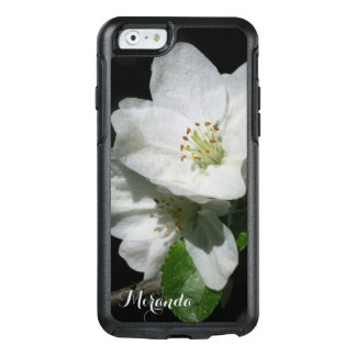 Apple Blossom - Personalized with Name or Text - OtterBox iPhone 6/6s Case