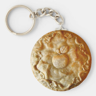 Apple Blossom Pie Key Ring