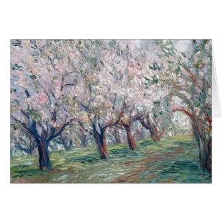Apple Blossom Time Card