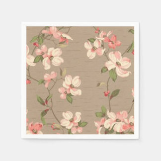 Apple Blossoms Disposable Napkins
