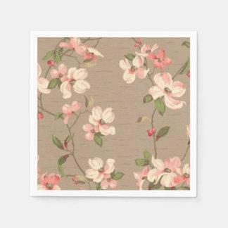 Apple Blossoms Disposable Serviette