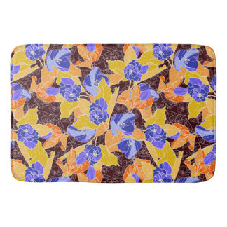 Apple Blossoms Pattern Bath Mat