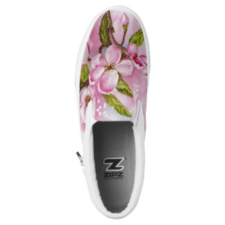 APPLE BLOSSOMS PRINTED SHOES