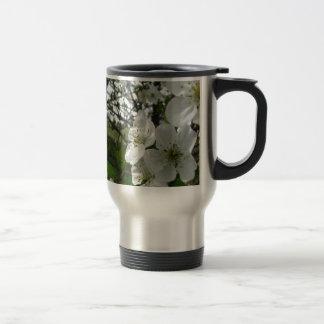 Apple Blossoms Travel Mug