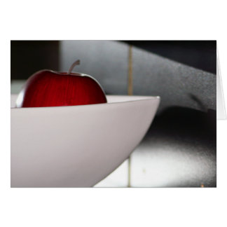 Apple Boat card
