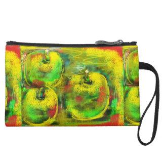 """""""Apple Boutique"""" Design Wristlet Purses"""