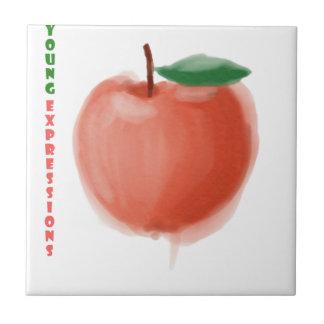 Apple Ceramic Tile
