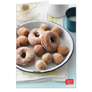Apple Cider Doughnuts Card