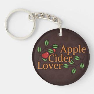 Apple Cider Lover Key Ring