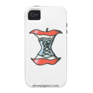 Apple Core in a Corset iPhone 4 Case