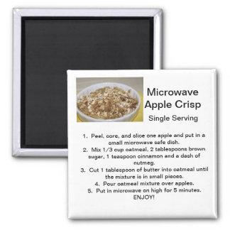 Apple Crisp Recipe Magnet