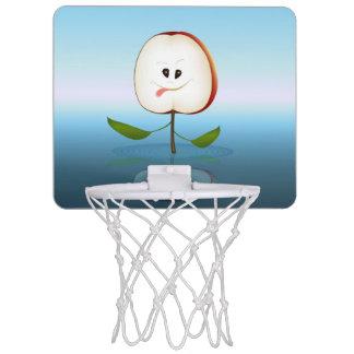 Apple Cut Cartoon Mini Basketball Hoop