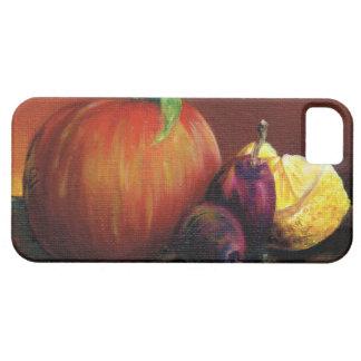 Apple, Damson and Lemon iPhone 5 Cover