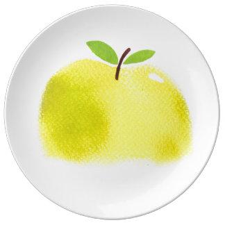 apple Decorative Porcelain Plate