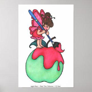 Apple Fairy Print