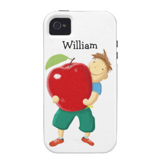 Apple for Teacher Case For The iPhone 4