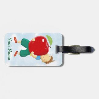Apple for Teacher Luggage Tag