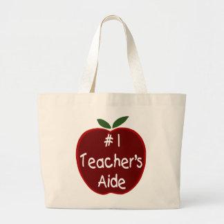 Apple For Teacher S Aide Tote Bag