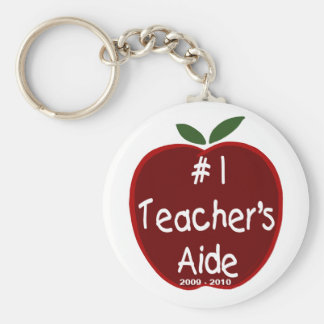 Apple For Teacher's Aide Key Chain