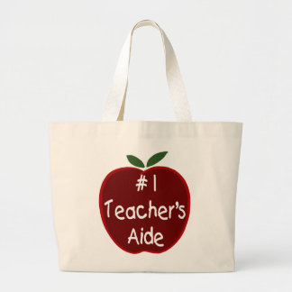 Apple For Teacher'S Aide Tote Bag