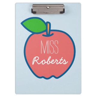 Apple for the Teacher Customisable Clipboard