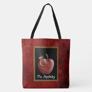 Apple for the Teacher Tote Bag