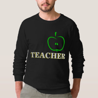 Apple Fruit on Men's Raglan Sweatshirt