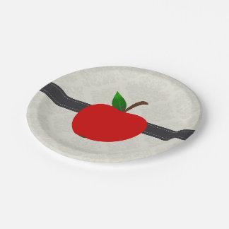 Apple Fruit Paper Plate