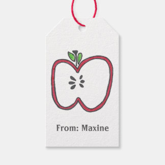 Apple Gift Tag