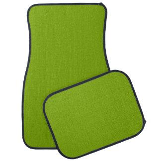 APPLE GREEN (a solid fruity color) ~ Car Mat