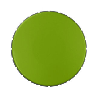 APPLE GREEN (a solid fruity color) ~ Jelly Belly Tin