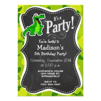 Apple Green Camo Alligator Gator Announcements
