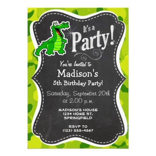 Apple Green Camo; Alligator, Gator Announcements