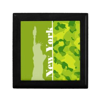 Apple Green Camo New York Gift Boxes