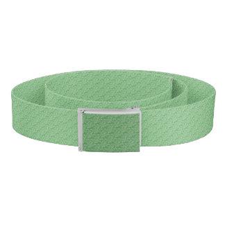 Apple Green Fractal-Style Belt