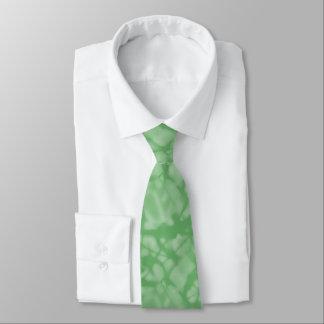 Apple Green Fractal-Style Tie