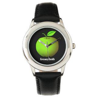 Apple Green Fresh Granny Smith Fruit Stylish Cool Watch