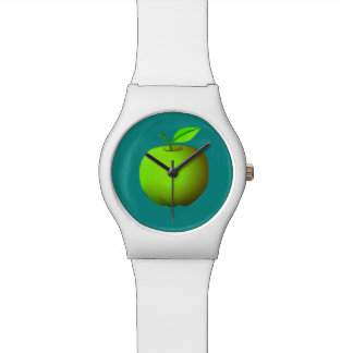 Apple Green Neon Vibrant Trendy Simple Fresh Cool Watch