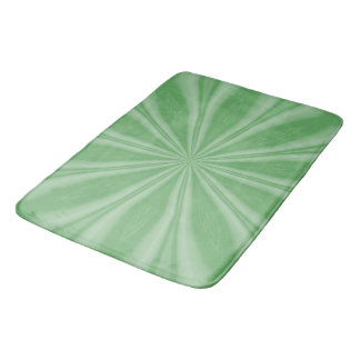 Apple Green Streaks Bath Mat