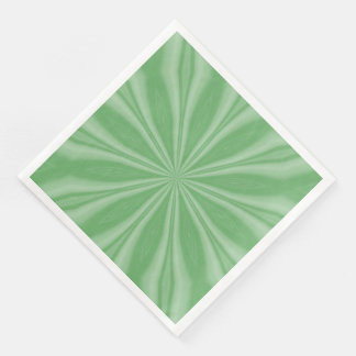 Apple Green Streaks Disposable Serviette