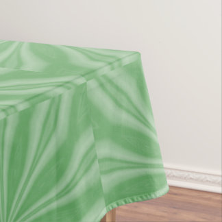 Apple Green Streaks Tablecloth