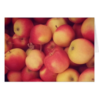 Apple Greeting Card | Seasons | Fall