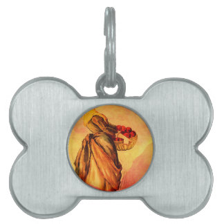 APPLE HARVEST PET NAME TAG