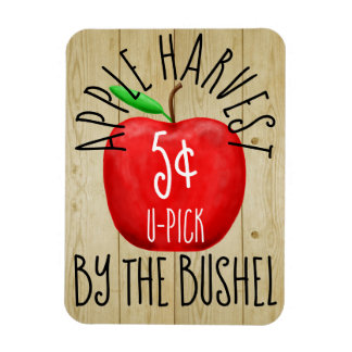 Apple Harvest Vintage Sign Magnet