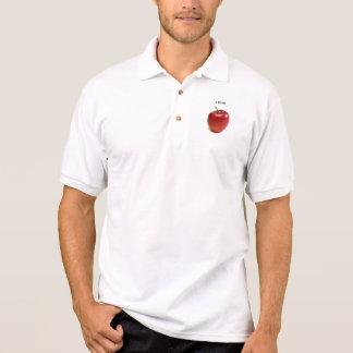 apple, I love Polo Shirt