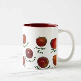 Apple Identification Mug Two-Tone Mug